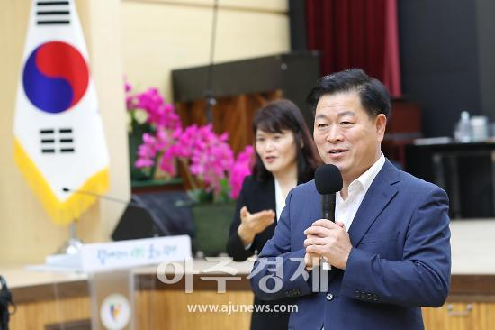 """박승원 시장 """"장애인 발전기본계획 수립, 예산과 꾸준한 정책 펼치겠다"""""""