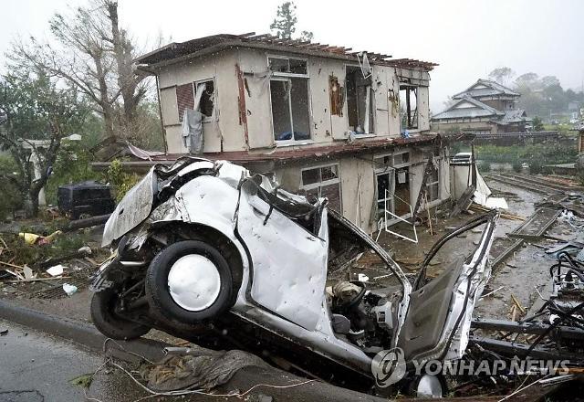 태풍 하기비스 일본 원전 8차례 누설경보…유실 여부는 침묵