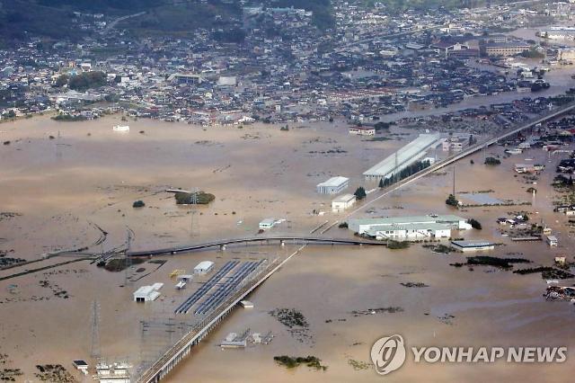 日, 역대급 태풍에...후쿠시마 원전 폐기물 유실