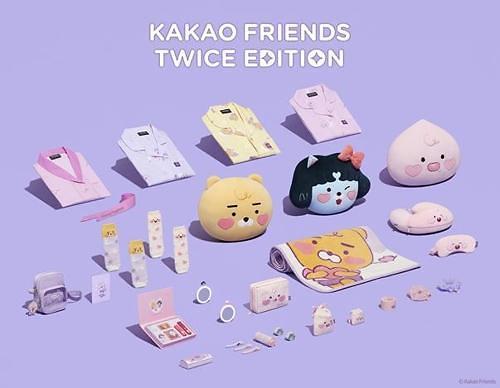 """强强联手来""""抢钱""""啦!TWICE设计的KAKAO FRIENDS将上市"""