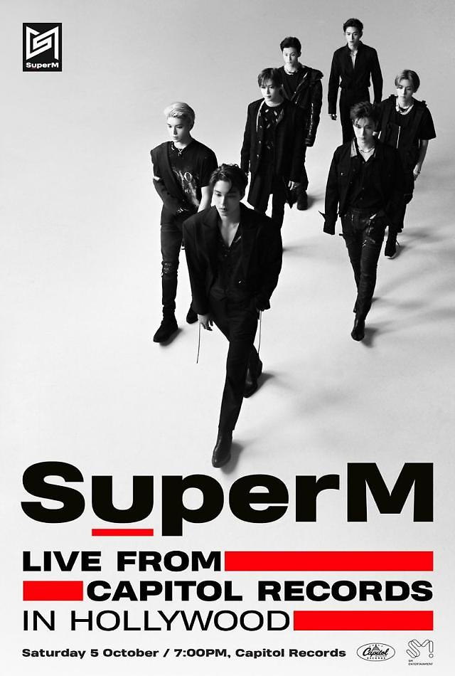 SM Entertainments All-Star unit band SuperM tops Billboards album chart