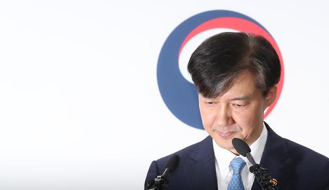 <简讯>曹国辞去法务部长官职务