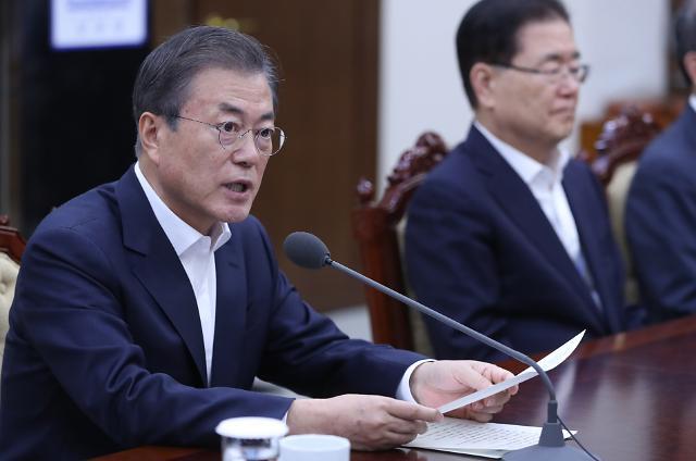 文대통령, 李총리 방일 전 아베에 태풍 피해 위로전 송부