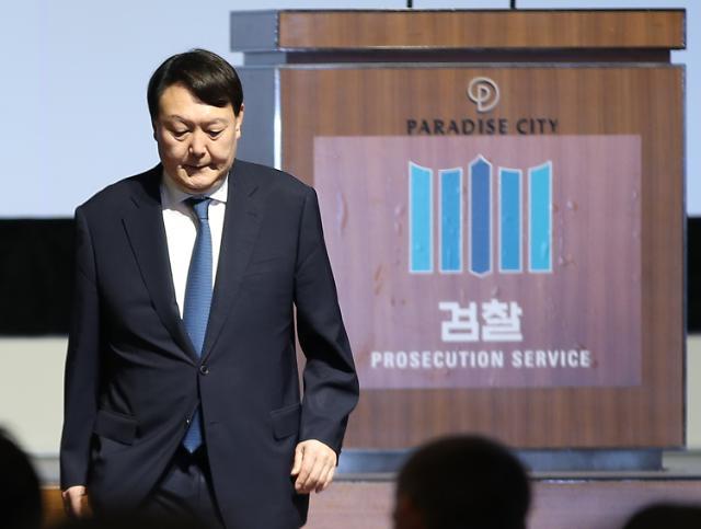 """文 """"환상적인 조합, 꿈같은 희망 됐다""""... 윤석열 동반 사퇴 하나?"""