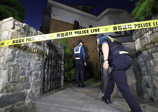 [포토] 설리 자택 통제하는 경찰