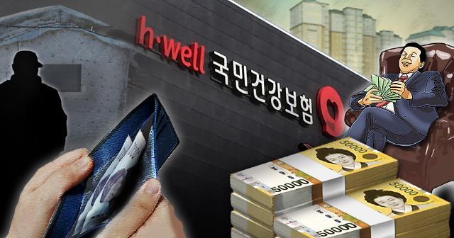 韩国故意滞纳健康保险费家庭超6万户