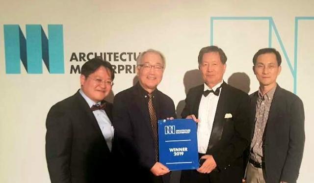 새문안교회 2019 아키텍처 마스터 프라이즈 건축설계 부문 수상