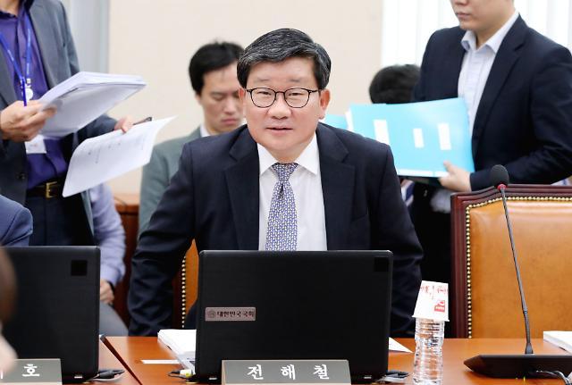 박지원 차기 법무장관 전해철 적임…전해철 당에서 역할