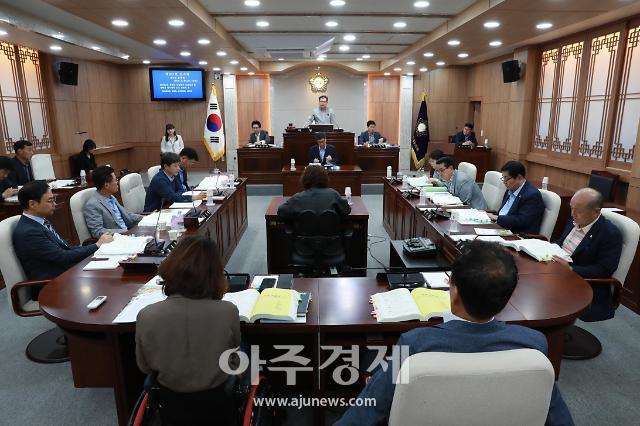 홍성군의회, 군정질문과 현장방문 통해 군 발전 방안 모색