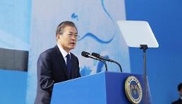 .文在寅出席釜马民主抗争40周年纪念仪式.