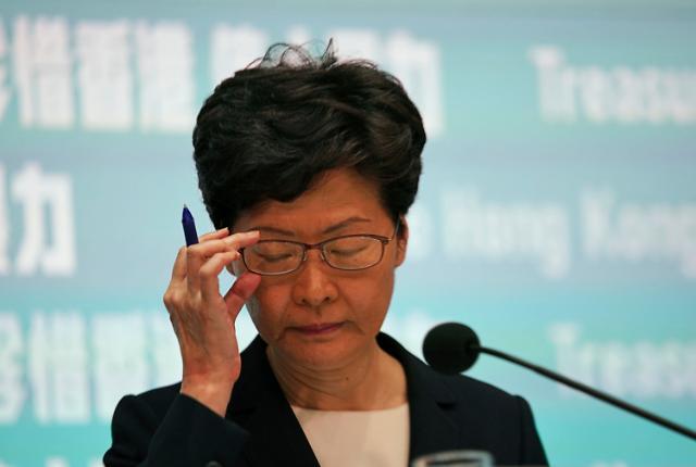 캐리람 홍콩 행정장관, 시정연설서 시위대 요구 수용 안 해