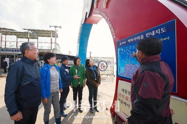 화성시의회 경제환경위원회, 어촌뉴딜300 사업 추진현황 점검