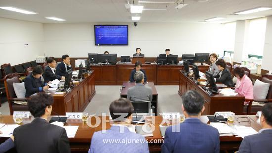 안산시의회, 제257회 임시회 22일 '개회'