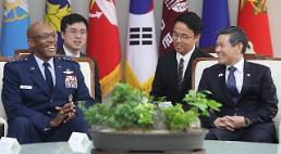 .韩防长会见美太平洋空军司令.