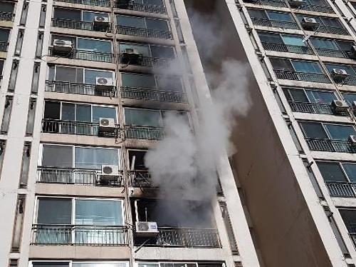 청주 아파트 화재, 재산 피해는 어느정도?