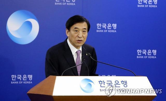 韩国银行或将今年经济增长率预测值下调至1%左右