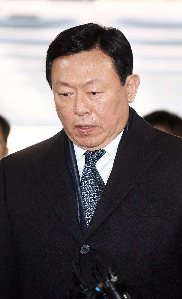 신동빈 롯데 회장, 오늘 상고심 선고...업무상 횡령 '유·무죄' 주목