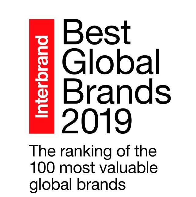 Interbrand发布2019全球最佳品牌排行榜 三星连续8年跻身前十
