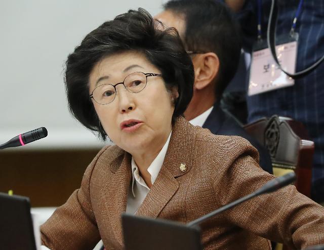 [포토] 질의하는 한국당 이은재 의원