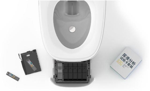상상초월 中 스마트 화장실... 건강진단까지 해준다