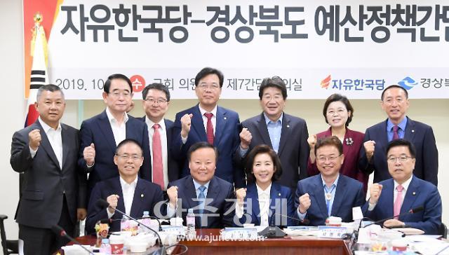 경북도-지역 국회의원, 2020 국비확보 막바지 총력전