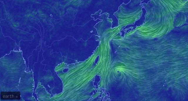 20호 태풍 너구리 발생… 실시간 태풍 경로 볼 수 있는 사이트는?