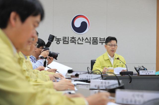 김현수 돼지열병 北서 옮겼을 가능성…파리·모기 채집조사