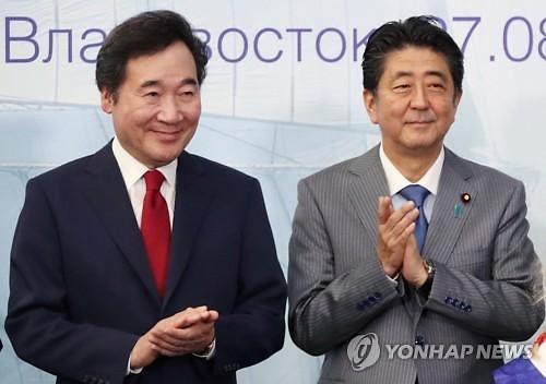 이 총리, 24일 아베 총리 만난다...관계개선 의지 표명