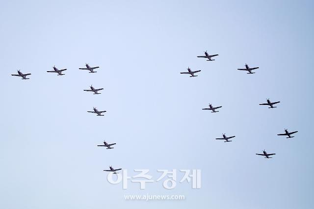 [포토] 공군, 창군70주년 기념행사 (서울 ADEX 2019)