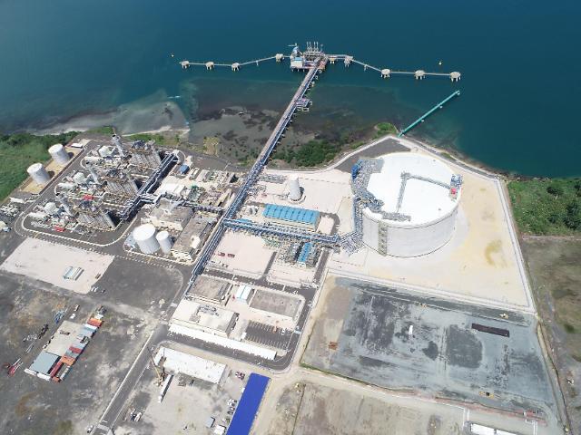 포스코건설, 파나마 복합화력발전소 및 LNG 터미널 준공