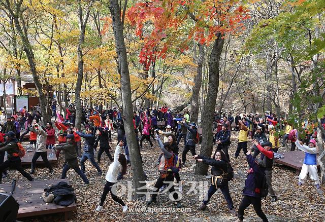 보령시, 제18회 성주산 단풍축제 및 단풍길 걷기대회 개최