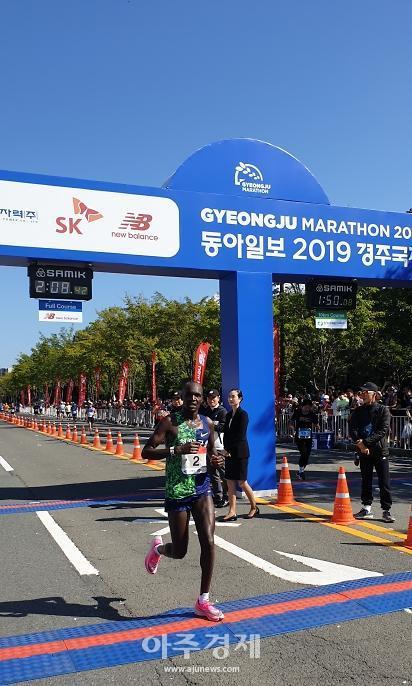 청양군, 한국인 마라토너 오주한 도쿄올림픽 출전 '첫 주자' 됐다