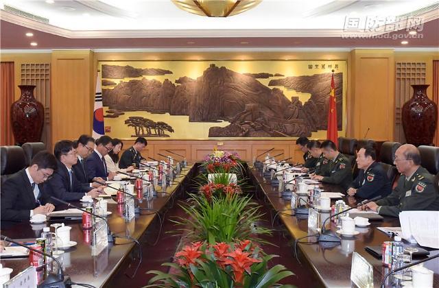 中국방부장, 남북 국방차관급 연쇄 회동…사드 에둘러 언급