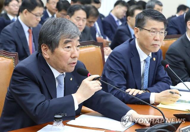 """[2019 국감] 윤석헌 """"DLF 피해보상, 은행 체계 문제와 연결 검토"""""""