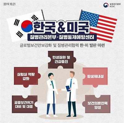 한-미, 해외 신종감염병 안보 위해 공조체계 구축