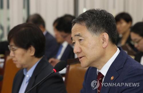 """[2019 국감] 박능후 복지부 장관 """"국민연금 개혁 단일안 제시 검토 중"""""""