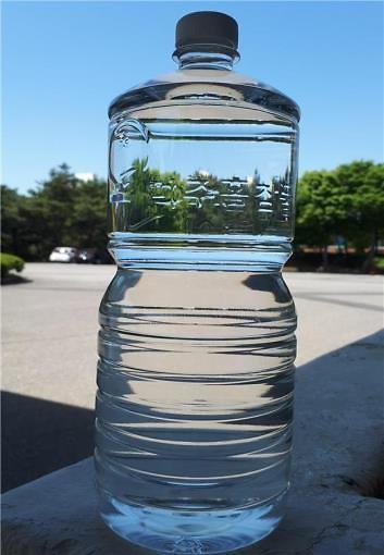 인천시상수도사업본부,국내 최초로 라벨 없는 PET병 수돗물 미추홀참물 공급