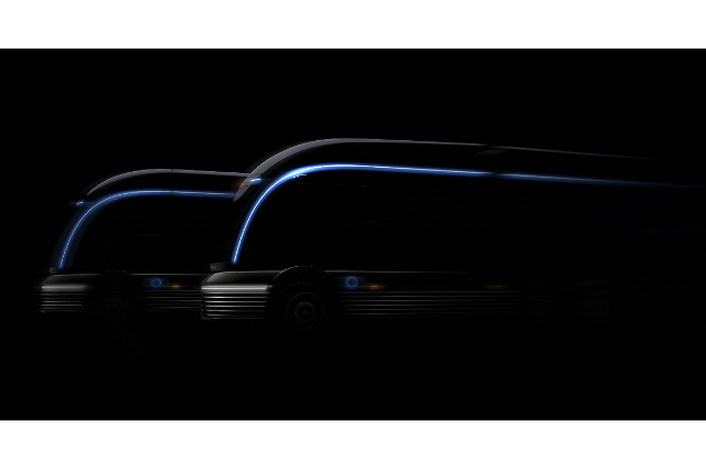 Hyundai releases teaser image of hydrogen electric truck concept ahead of vehicle show