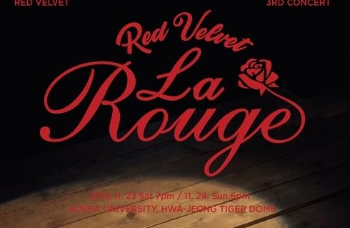 Red Velvet将于11月在首尔开唱