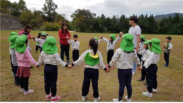 송곡대, 2019 강원 유아숲체험의 날 개최...유치원 유아 등 500여명 참가