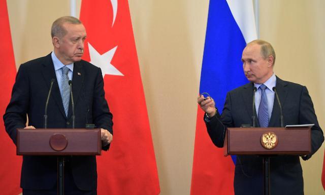 """러-터키 """"쿠르드 민병대 시리아 안전지대서 철수"""" 합의"""