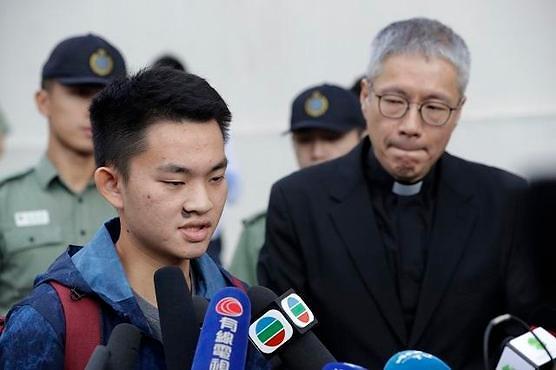 홍콩 송환법 반대 시위 촉발한 살인 용의자 찬퉁카이 석방