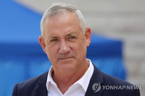 이스라엘 새 총리에 중도파 간츠 지명
