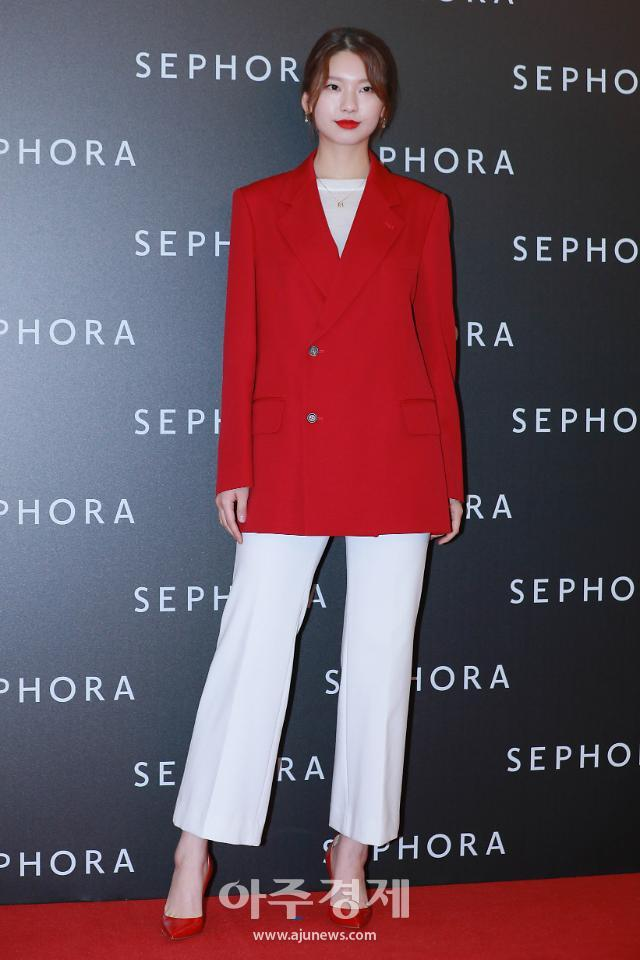 [포토] 세포라 행사 참석한 모델 김진경