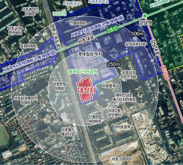 서초동 코오롱 스포렉스 부지 개발 탄력