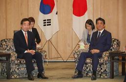 .韩总理日本首相会晤开始.