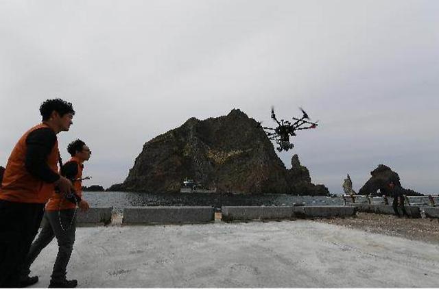 초정밀 '라이다 드론'으로 독도 등 천연보호구역·명승 촬영