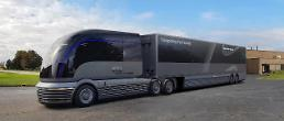 .Hyundai reveals concept model for commercial hydrogen-powered truck at US car show.