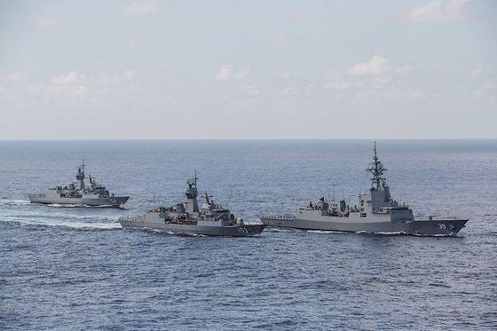 한-호주, 북한 SLBM 잠수함 잡는 해군 연합훈련 실시