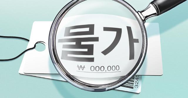 韩国9月消费者物价上升率为OECD最低